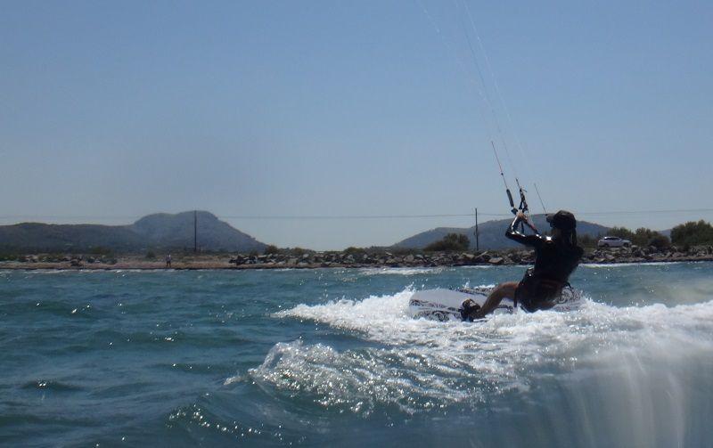 4-Kitesurf-Unterricht auf Mallorca und dort geht es auf den ersten Versuch