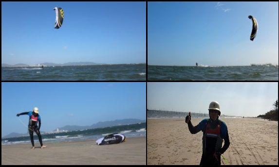 4 kite test Flysurfer Speed 4 fast turn kite foil