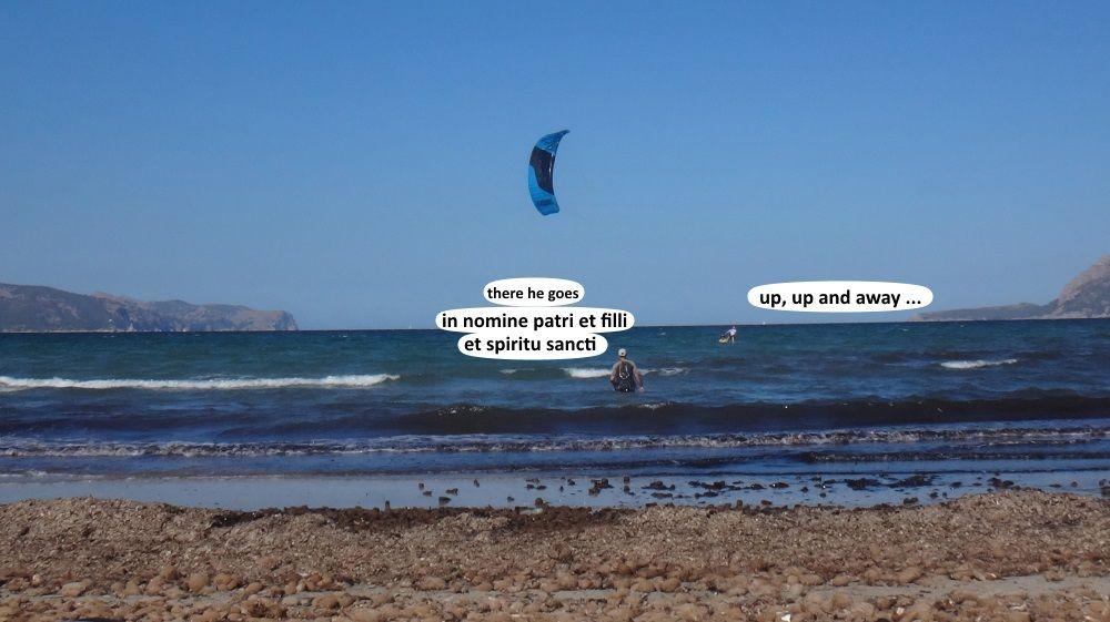 4 ready to waterstart kitesurf in can pastilla and Pollensa