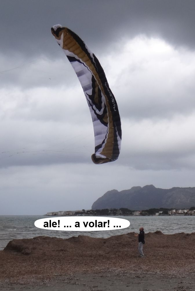 la escuela flysurfer de kite en Mallorca
