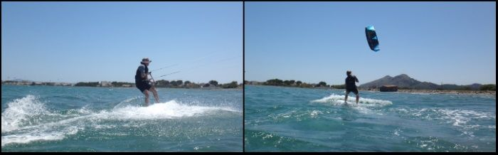 5 kitesurfing Mallorca flysurfer kiteschule auf Pollensa Patrick kiten