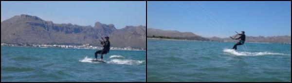 6 la emoción de los primeros metros de boardriding flysurfer Mallorca