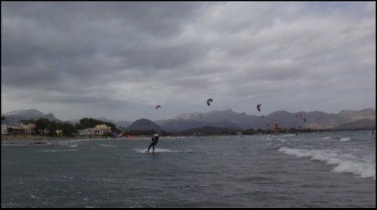 6 nichts neues schon runter kitesurfen mallorca