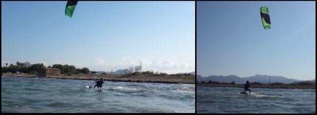 8 ist bereits weit genug zum Kitesurfen in Palma de Mallorca
