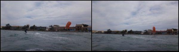 9 Es Barcares Kitesurf auf Mallorca Alcudia Razak erster Wasserstart und Ausritte