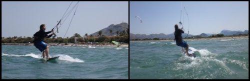 .Claudia kitesurfen alcudia und pollensa