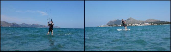 Diese Fotos stammen von Vincent mallorca kiteschool in Juli