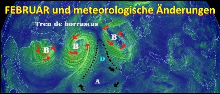 Februar und Meteorologie Mallorca kitesurfen