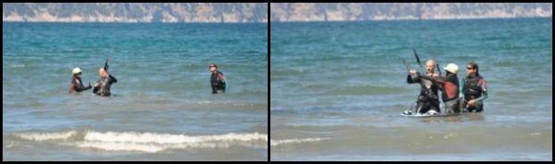 Heute ist der zweite Kitekurs-Tag von Michael kitekurs im Mai auf Mallorca