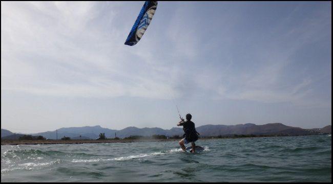 Joseph war ein ausgezeichneter Kitesurfer mallorca kiteschool lernen kiten Alcudia