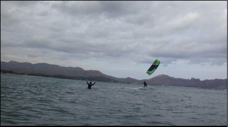 erfolg guarantier mit flysurfer beim kitekurs Mallorca ende August mit Richard