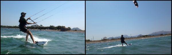 gewinnt Geschwindigkeit und schneller Kitesurfen Mallorca