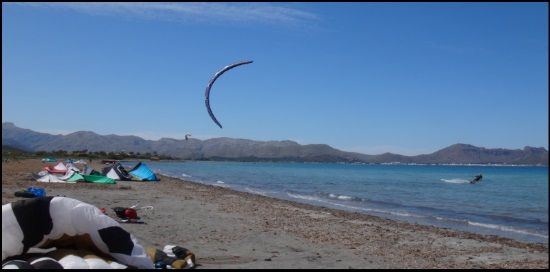 kite courses mallorca Sonic and the high aspect ratio and race oriented profile