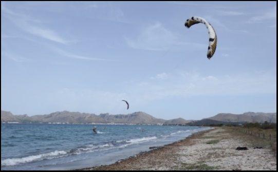 um die leichtesten Brisen der Insel Mallorca herauszufordern.