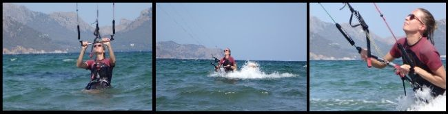 1 kitesurfing lessons in Alcudia Mallorca one day kite lesson