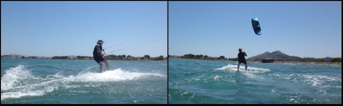 10 riding kiteboarding in both ways
