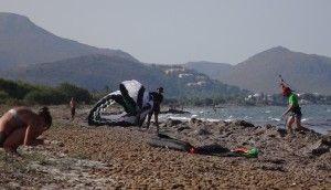 18 Portblue Club kiteschool beach Manuel in Mallorca in August
