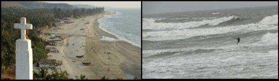 2 Morjim y Arambol kite beaches India