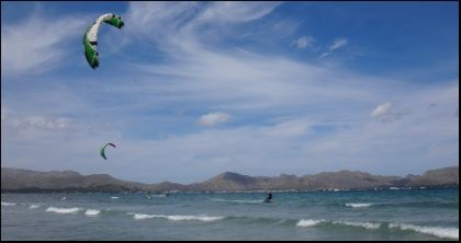 3 Flysurfer Speed 3 Deluxe 12 meters mallorca kiteschool