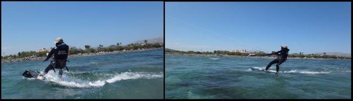 3 kiteschule für anfänger auf Pollensa und Alcudia Mallorca kitekurs