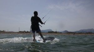 3-kitesurfing lessons with Joseph kite course Can Pastilla in Pollensa