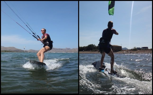 4 best months for learning kitesurfing in Mallorca May June July