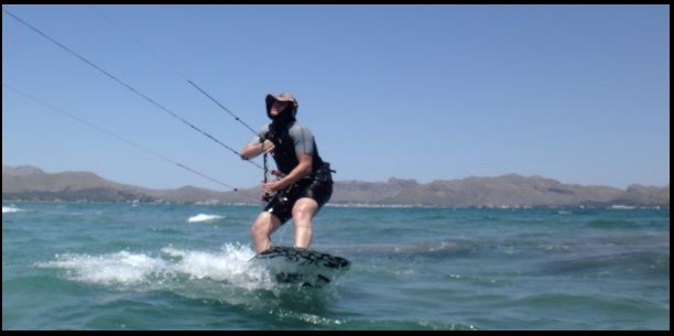 7 flysurfer kite school lessons in Pollensa and Alcudia