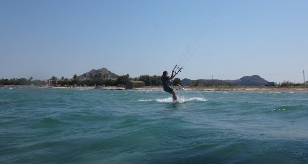 8 wind is light but flysurfer kiteboard is perfect