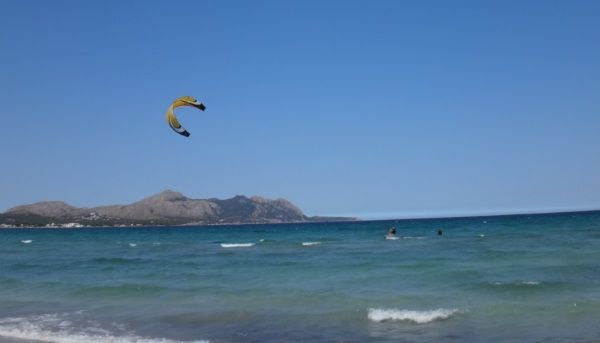 9 getting upwind and riding confidently mallorca kiteschool best courses in Pollensa