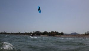 learn kitesurfing Joseph Mallorca wind and weather in July