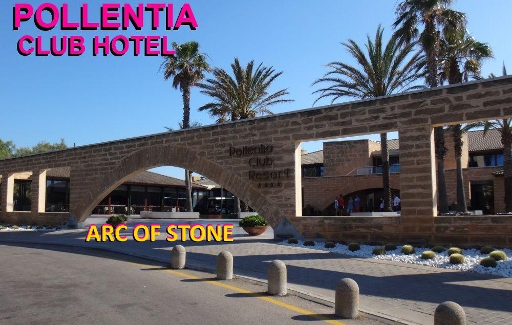 HOTEL EINTRITT Portblue club Pollentia Hotel Bogen der Stein kitesurfschule Mallorca Kiteschool