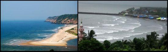 Hatnai y Ratnagiri beaches playas de India