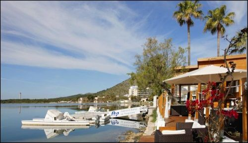 Hotel Boccaccio Puerto de Alcudia Mallorca Kiteschule empfohlen