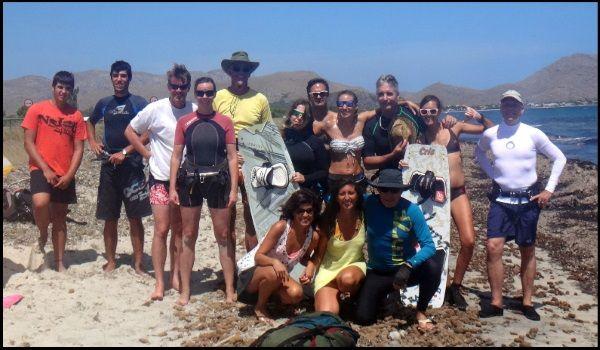 Mallorca kiteschule bei Asociacion Aprende a Navegar kontakt kite-mallorca