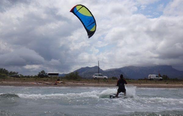 mit meine Best kite kurs auf mallorca in May DSC02839a
