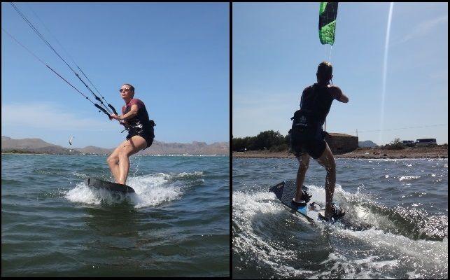 aprender kitesurf en mallorca en Agosto kitesurfing mallorca escuela de kite