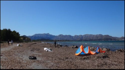 1 Es Barcares kitesurfing school Mallorca Spring has arrived