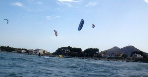 10 Cyrus kite course in Pollensa Bay Flysurfer kite lessons