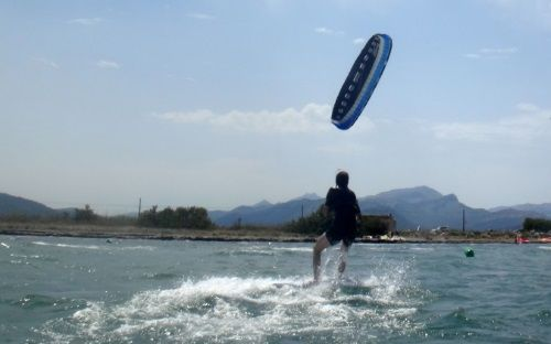 11 Kite center Mallorca Flysurfer kite lessons in Mallorca during April May