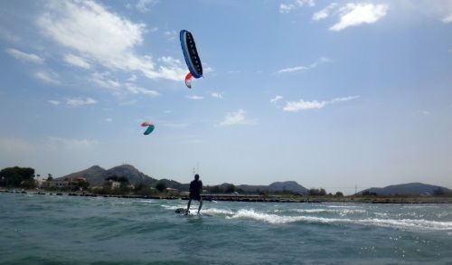 6 kite lessons buy in Mallorca used kite equipment
