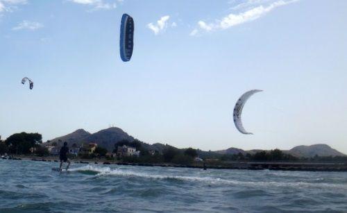 7 erster Kitesurflektion in Mallorca Anfänger-Kitekurs