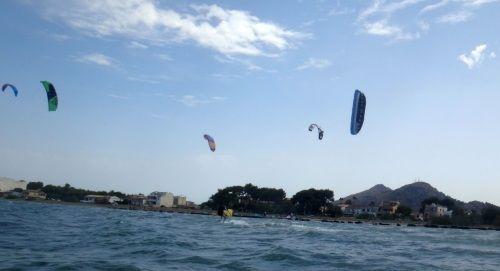 9 spots for kitesurfing in Pallorca Cyrus in Alcudia