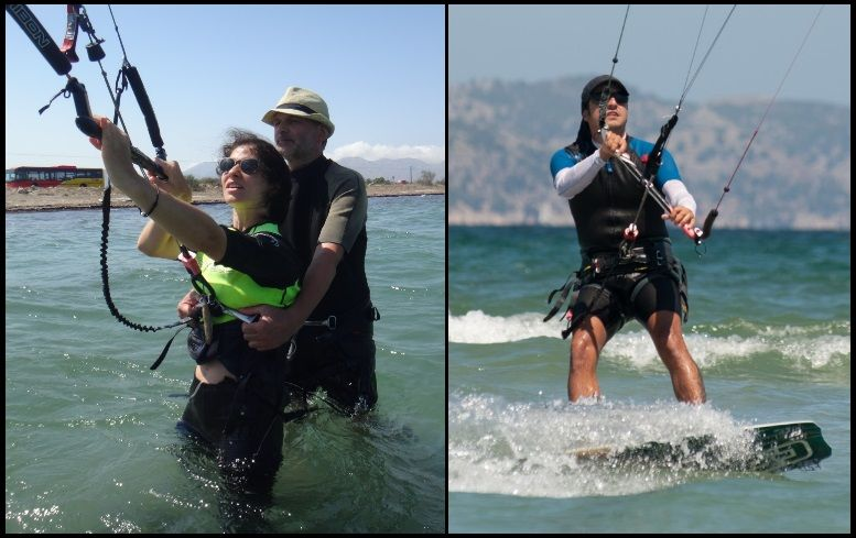 kitesurfing lessons in Mallorca in May mallorca kiteschool com