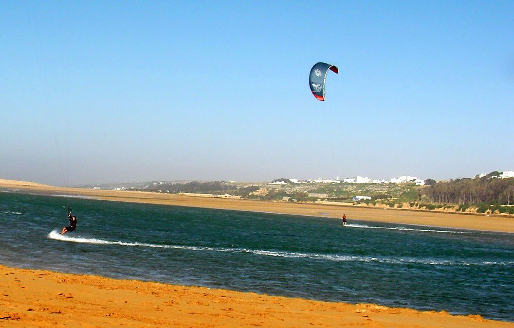 wind in Morocco Oualidia kitesurfing spot Mallorca kiteschool winter kitetrips