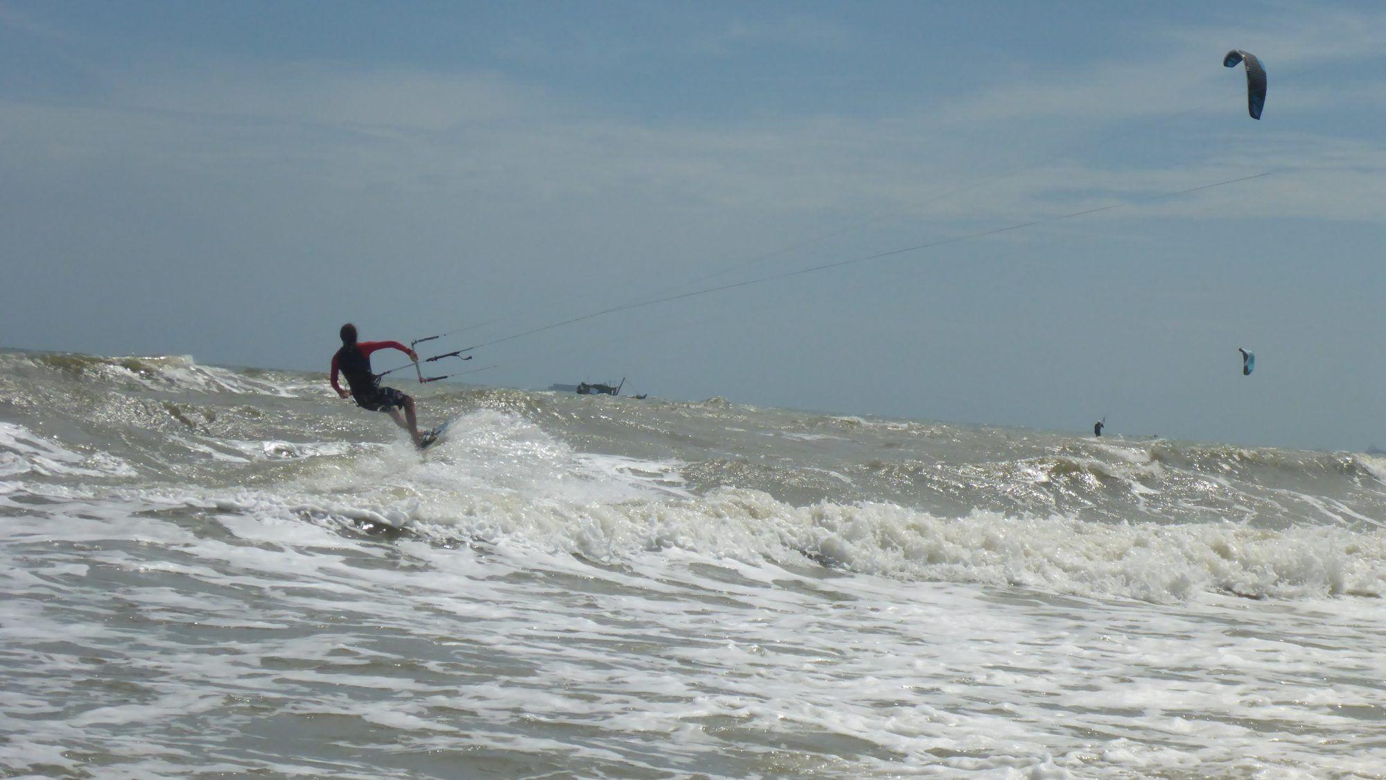 anfänger kitekurse auf Vietnam - kiteschule Vung Tau in December