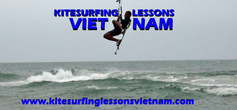 kitesurfing lessons vietnam bien