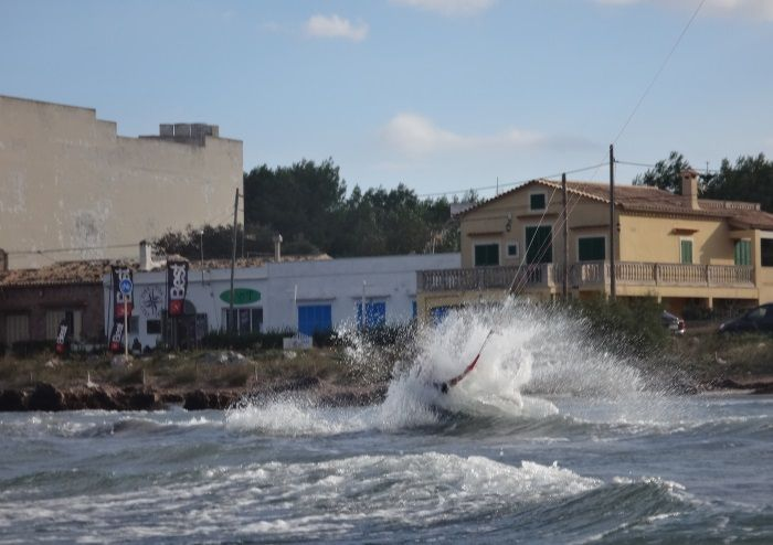10 wipe out on west wind in Pollensa