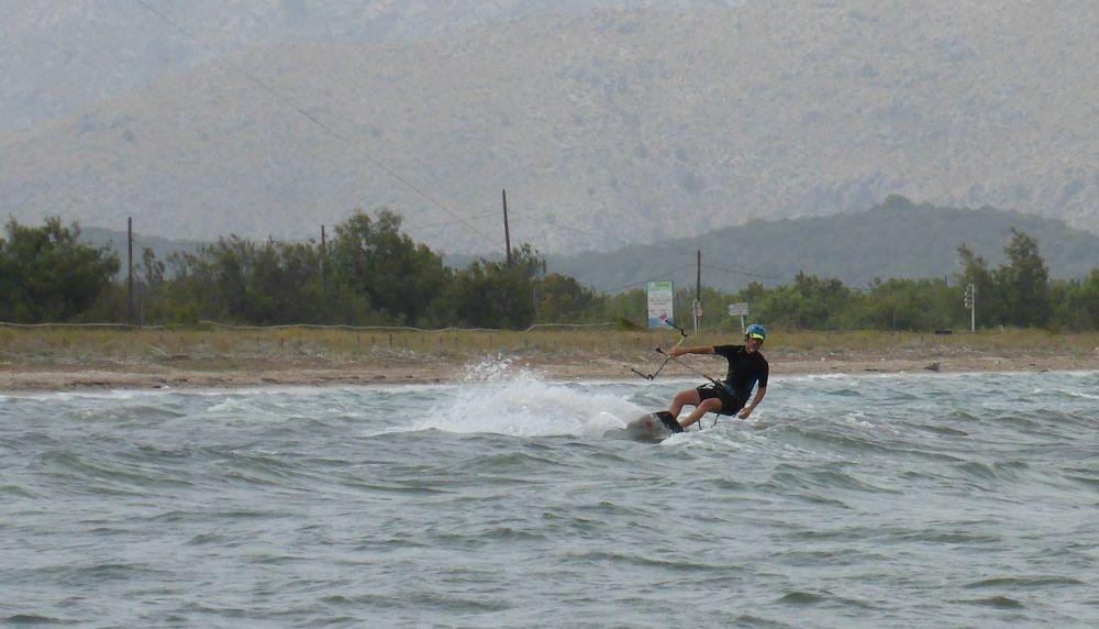 11 Michi tambien prueba la Flysurfer Soul 15