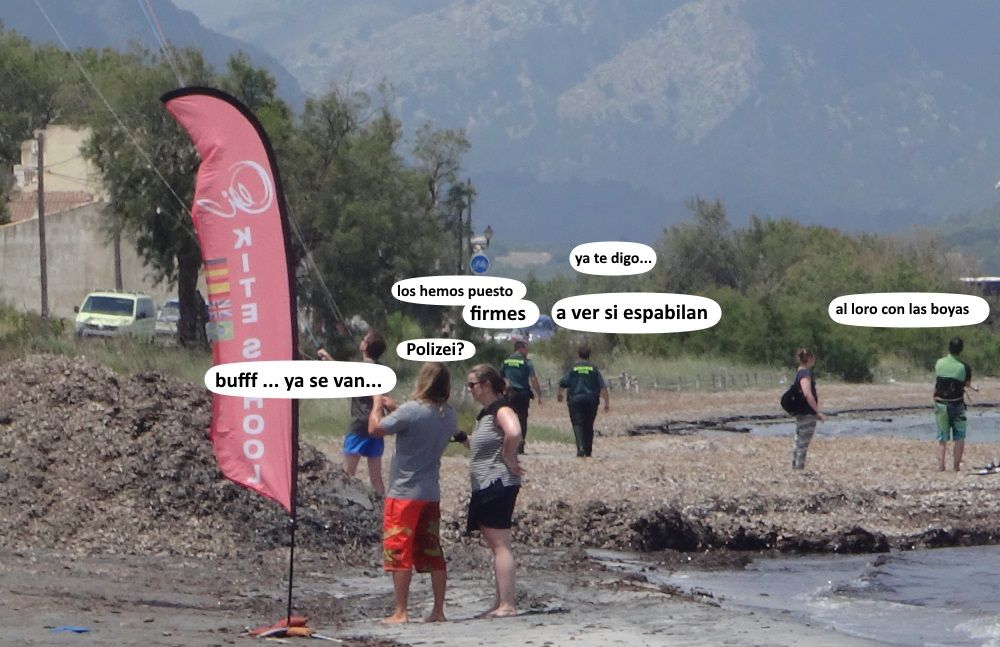 12 el kitesurfing como y donde aprender en Mallorca