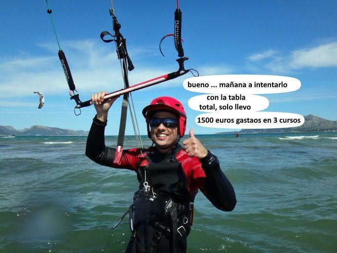 2 cursos de kitesurf en Pollensa